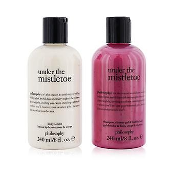 Under Mistelten 2-stykker Sæt: Shampoo Shower Gel & Bubble Bath Gel 240ml + Body Lotion 240ml - 2x240ml/8oz