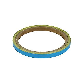 Bike It 7mm Light Blue Reflective Wheel/Body Stipes
