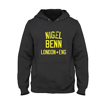 Nigel Benn Sudadera con capucha de la leyenda del boxeo