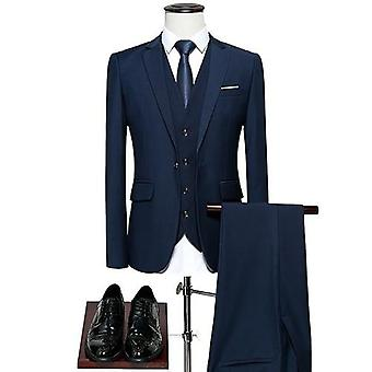 Mænd 's Slim-fit Wedding Business Casual Classic Formel Suit