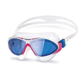 رئيس الأفق السباحة حملق-عدسة أزرق-أبيض/وردي/أزرق