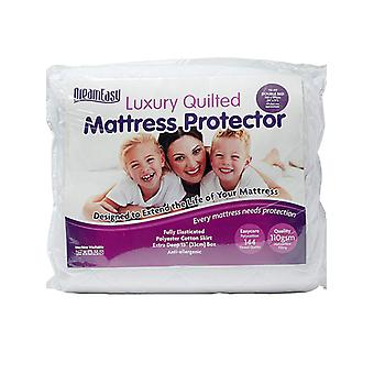 Dreameasy Quilted Polycotton Mattress Protector