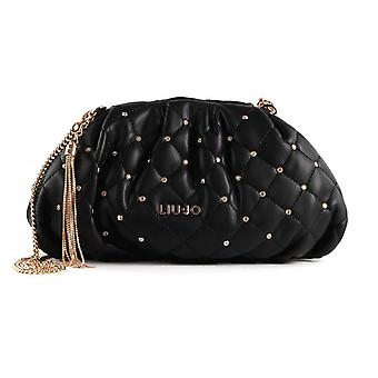 Sac pour femmes Liu-jo Bag Clutch S With Quilted Shoulder Strap Black Bs21lj56 Aa1216