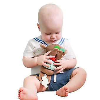 Teethers Plush Dolls Brown Koala Doll Toy With Built-in Music Box