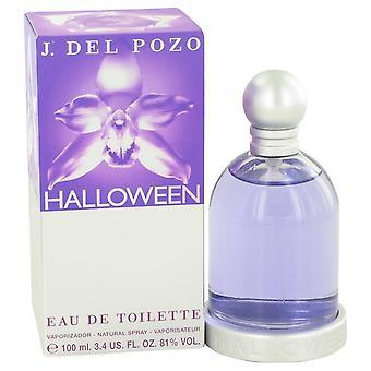 Halloween Eau De Toilette Spray By Jesus Del Pozo 3.4 oz Eau De Toilette Spray