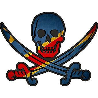Tarra tarra merirosvo jack rackham calico maa lippu RCB congo