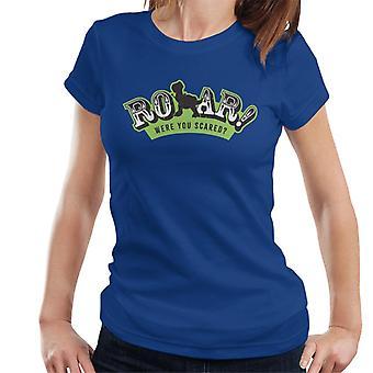 Pixar Toy Story Rex Roar Were You Scared Women's T-Shirt