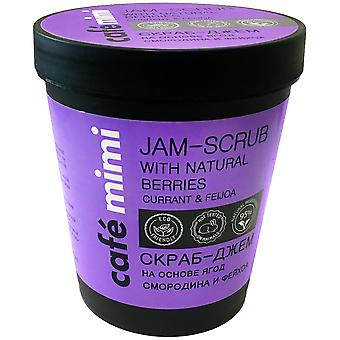 Cafe Mimi Exfoliating Marmalade of Currant and Feijoa 270 gr
