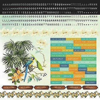 Kaisercraft - Paradiso 12x12 Sticker Sheet