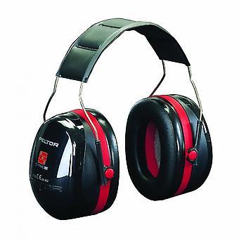 3M PPE H540A-411-SV פלאטור Optime 3 האוזן שחור המצח