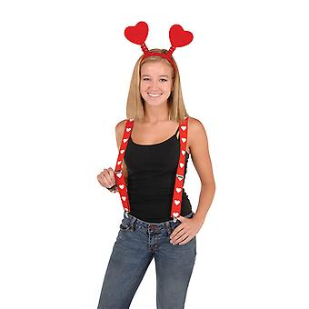 Heart Suspenders (Pack Of 12)