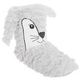 Naisten/naisten eläinten Design Faux Fur tohveli kengät
