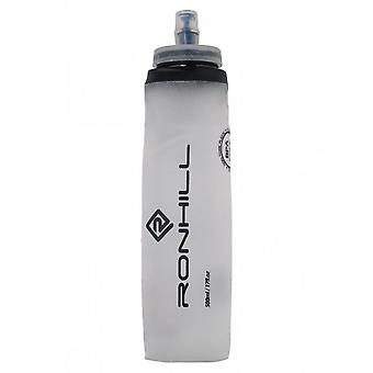 Ronhill Fuel Flask Lightweight Roll Up Bite Valve Silicone Run Bottle - 500ml
