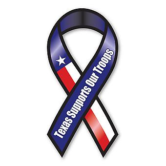 Magnet, båndformet magnet, Texas støtter vores tropper, militær