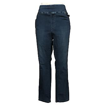 Belle by Kim Gravel Women's Jeans Plus Regular TripleLuxe Blue A381621
