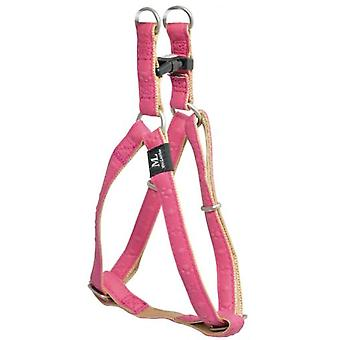 Mac Leather Star Harness Fuchsia (Dogs , Collars, Leads and Harnesses , Harnesses)