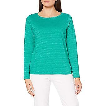 Cecil 315354 T-Shirt, Green Lucky Clover, S Woman