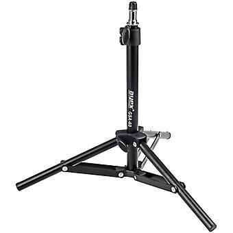 """Kompaktes leichtes Lampenstativ GSA-60, stufenlos einstellbar von 34 bis 70cm, mit 5/8"""" Spigot"""