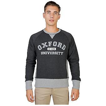 Oxford University - Clothing - Sweatshirts - OXFORD-FLEECE-RAGLAN-GREY - Men - lightgray - XXL