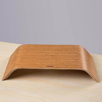 Bamboo Desktop Monitor Sporit Stand Titular
