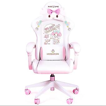 Wcg Gaming Chair Cute Cartoon Computer Armchair & Lifting Adjustable Chair