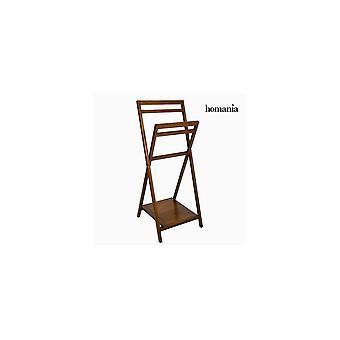 Vapaasti seisova pyyheteline - Nogal Collection Mindi Wood (55 X 51 X 129 Cm)