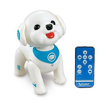 T5ec rc robot dog smart puppy programmable voice control singing walking remote control electronic pet educational toys