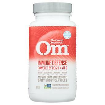 Organic Mushroom Nutrition Immune Defense, 90 Caps