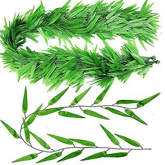 Leaf Faux Greenery Leaves For Table Chairs Backdrops Backyard Indoor Decor