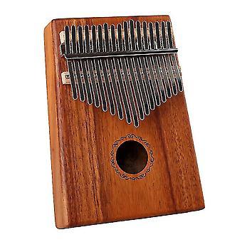 Калимба Большой палец фортепиано 17 ключей Акация Портативный музыкальный инструмент для детей
