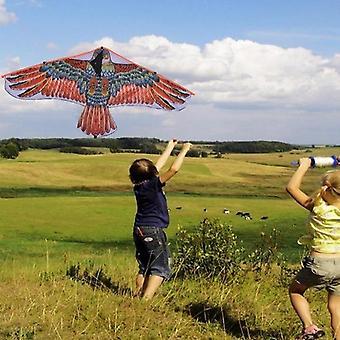 Flying Hawk Scarecrow Garden Bird Yard Kite