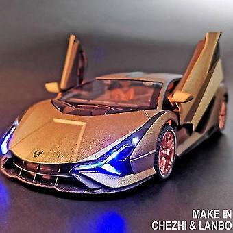 1:24 Grande Dimensione Lamborghini Sian Lega Modello Die Cast Sports Car Toys For Children Boys Strong