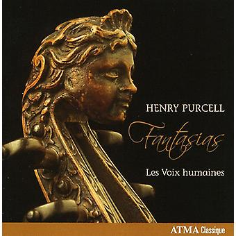 H. Purcell - Henry Purcell: Fantasias [CD] USA import