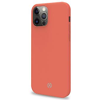 Cromo Soft rubber case iPhone 12 / 12 Pro Ora