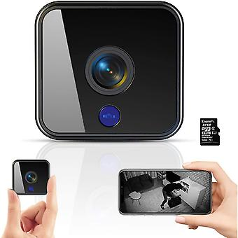 MINI Camera, 1080P HD 32G Wireless Home Security Surveillance Cameras with Night Vision, Motion