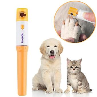 Pet Pedikúra Nástroje Péče Soubor Elektrický Automatický Pet Grinder Pet Cat Puppy Paw Dráp Nail Grinder