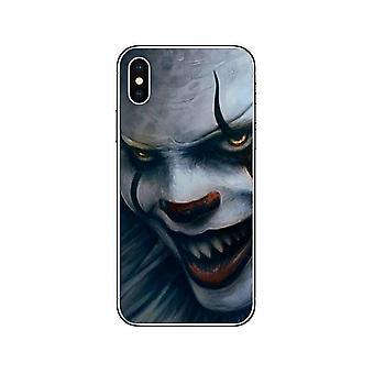 """Inquietante pagliaccio di conchiglie dall'iPhone di pittura """"it"""" di Stephen King"""