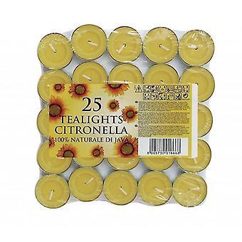 Candles 50 citronella garden tea light candles