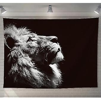 Home decor decals animal lion tapestry decor hippie macrame wall hanging wall tapestry home decoration
