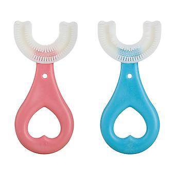 فرشاة أسنان الأطفال U على شكل طفل تنظيف تجويف الفم للأطفال