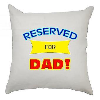 reservert for pappa putetrekk 40cm x 40cm