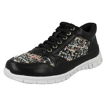 Ladies Waves Casual Trainers F80101