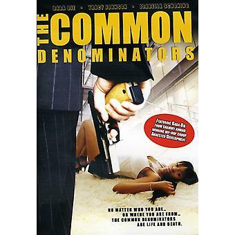 The Common Denominators [DVD] USA import