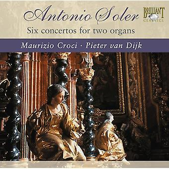 A. Soler - Antonio Soler: Six Concertos for Two Organs [CD] USA import