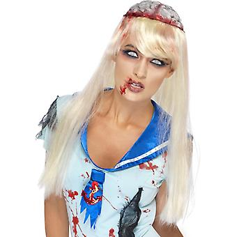 Hjernen paryk skole pige high school horror hjernen paryk blonde