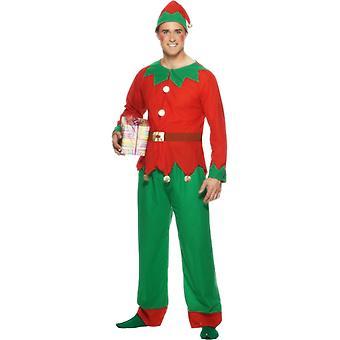 Alf kostume voksen jul Elf Elf kostume