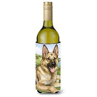 Berger allemand de Debbie Cook bouteille de vin boisson isolateur Hugger