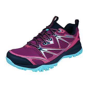 Merrell Capra bullone Gore Tex Womens Trail Running scarpe da ginnastica / scarpe - rosso