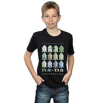 Star Wars pojat vihreä R2-D2 t-paita