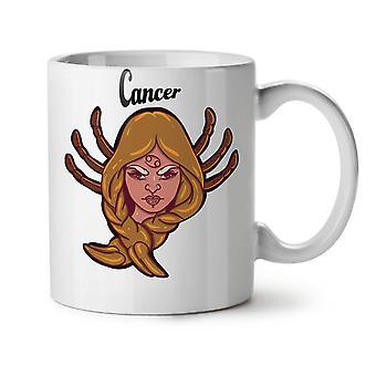 Cancer NEW White Tea Coffee Ceramic Mug 11 oz | Wellcoda